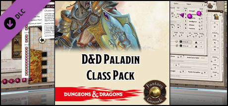 Fantasy Grounds - D&D Paladin Class Pack