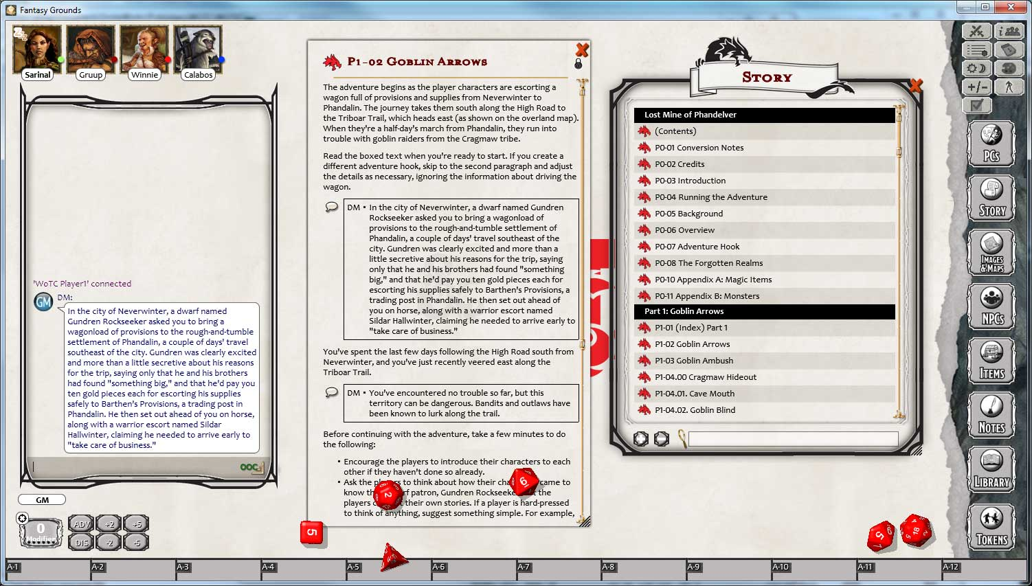 Fantasy Grounds - D&D Lost Mine of Phandelver