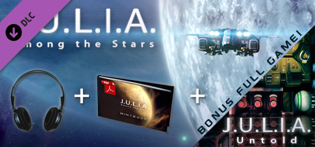J.U.L.I.A.:Among the Stars - Soundtrack, Hintbook, Untold