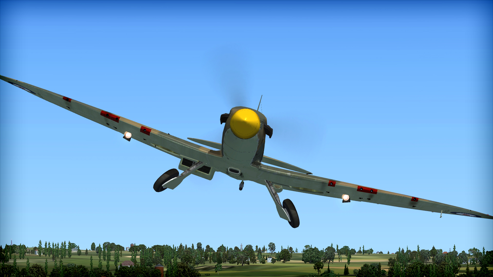 save 50% on fsx: steam edition - battle of britain: spitfire add-on