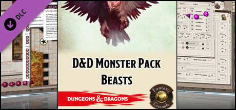Fantasy Grounds - D&D Monster Pack - Beasts