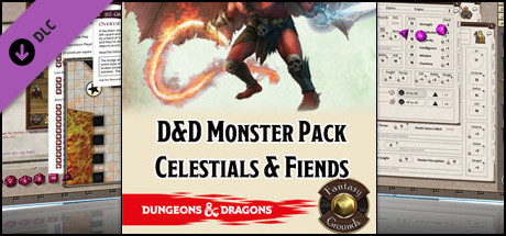 Fantasy Grounds - D&D Monster Pack - Celestials & Fiends
