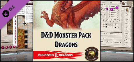 Fantasy Grounds - D&D Monster Pack - Dragons
