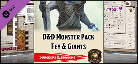 Fantasy Grounds - D&D Monster Pack - Fey & Giants