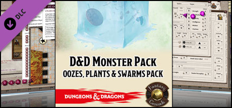 Fantasy Grounds - D&D Monster Pack - Oozes, Plants & Swarms