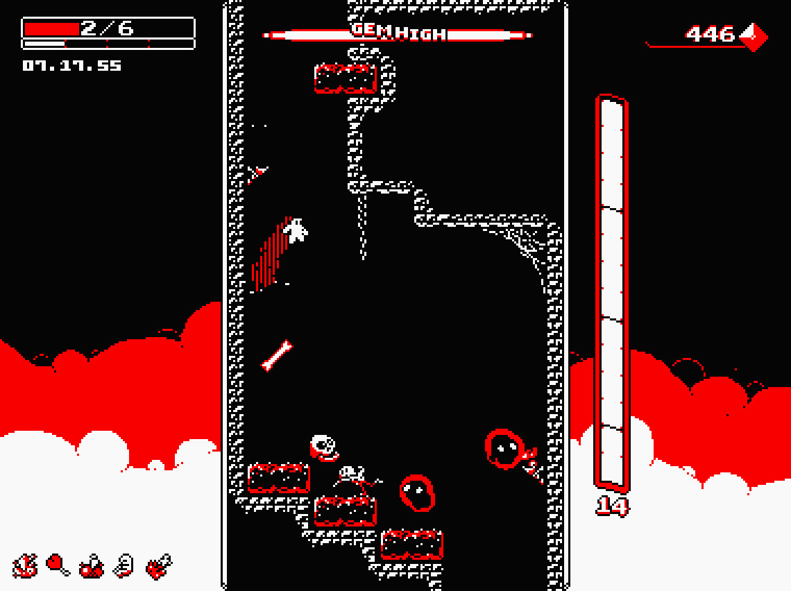 Find the best laptop for Downwell
