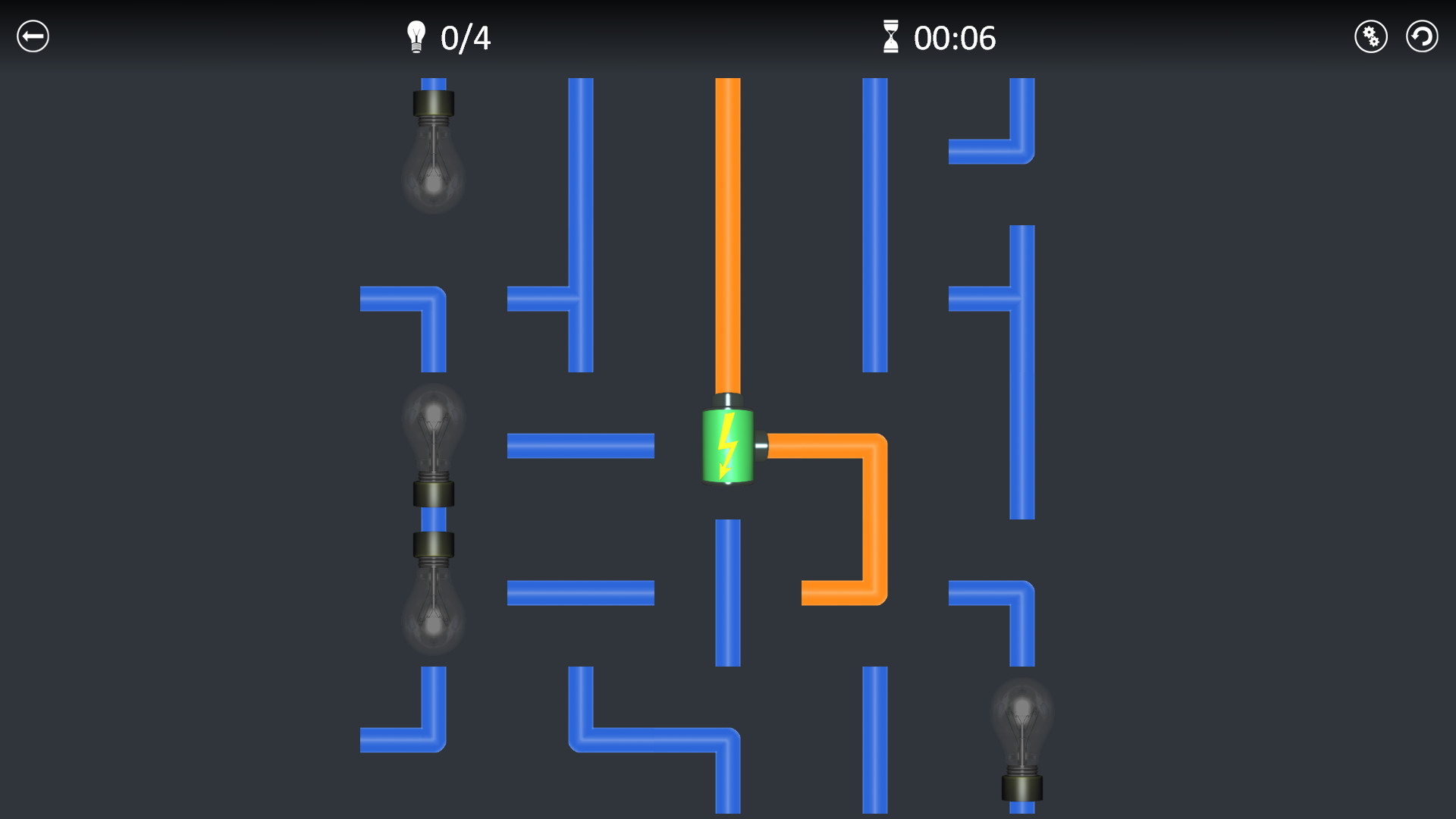 Electric Circuit On Steam Wiring Circuits Game