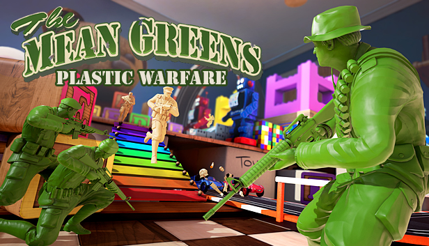 The Mean Greens - Plastic Warfare on Steam