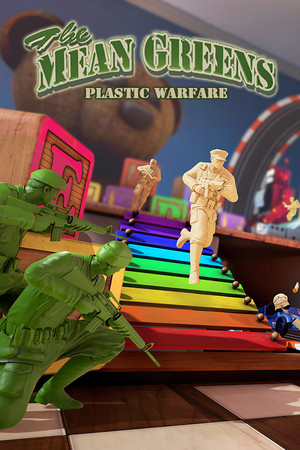 The Mean Greens - Plastic Warfare poster image on Steam Backlog