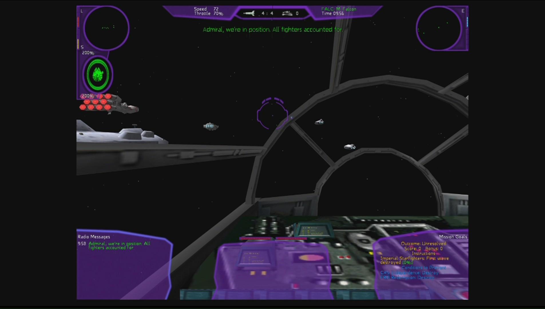 STAR WARS - X-Wing Alliance screenshot 1