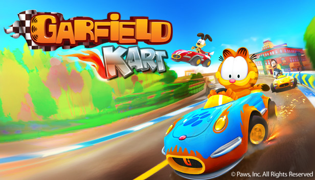 Garfield Kart and new giveaways