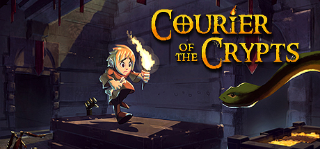 Courier of the Crypts Capa