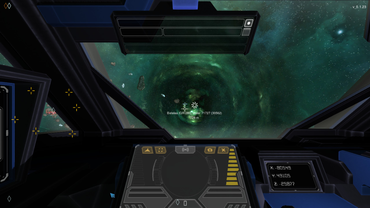 Screenshot of Interstellar Rift server hosting