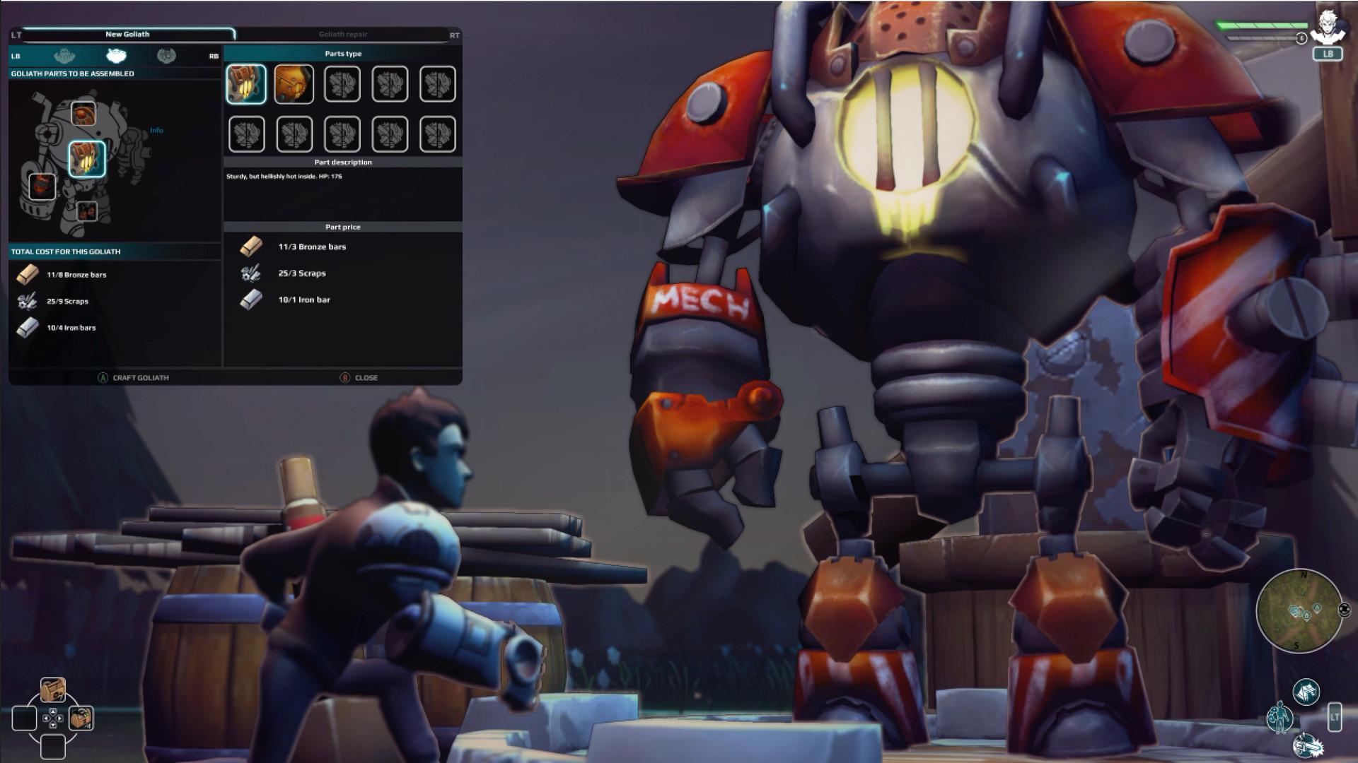 Goliath screenshot 3