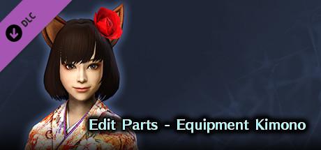 DW8E: Edit Parts - Equipment Kimono