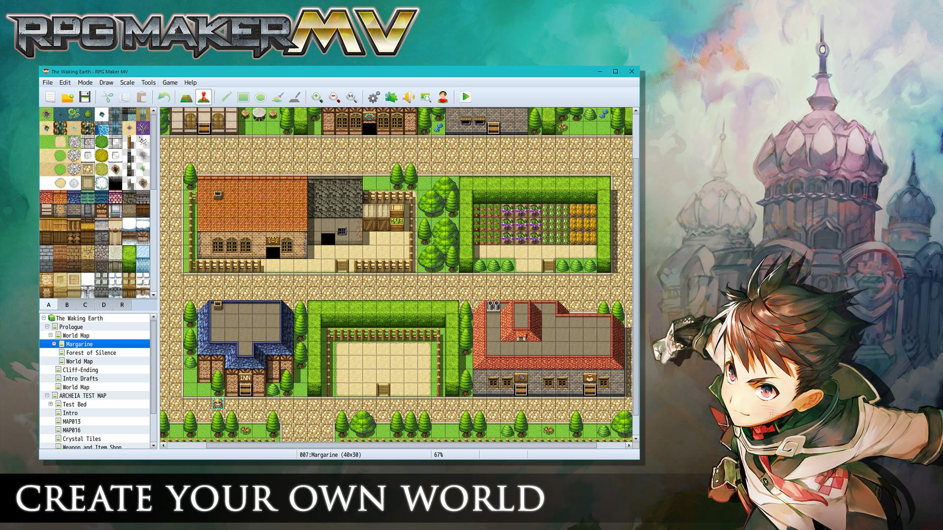 Économisez 80% sur RPG Maker MV sur Steam