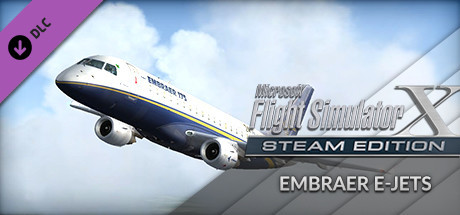 FSX: Steam Edition - Embraer E-Jets 175 & 195 Add-On on Steam
