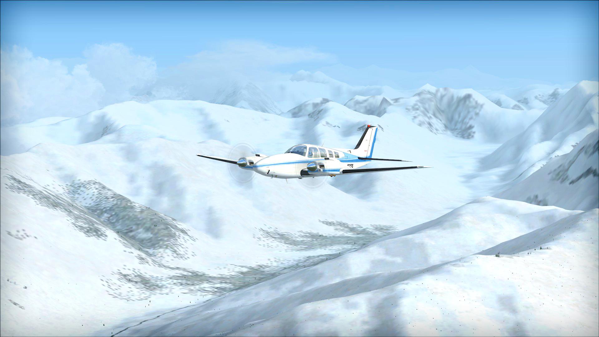 FSX: Steam Edition - Air Alaska Add-On