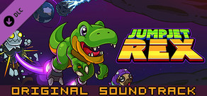 JumpJet Rex - Soundtrack cover art