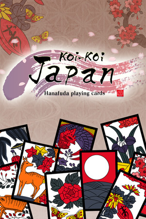 Koi-Koi Japan [Hanafuda playing cards] poster image on Steam Backlog