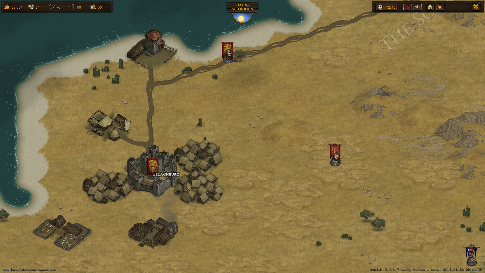 Battle Brothers Screenshot 2