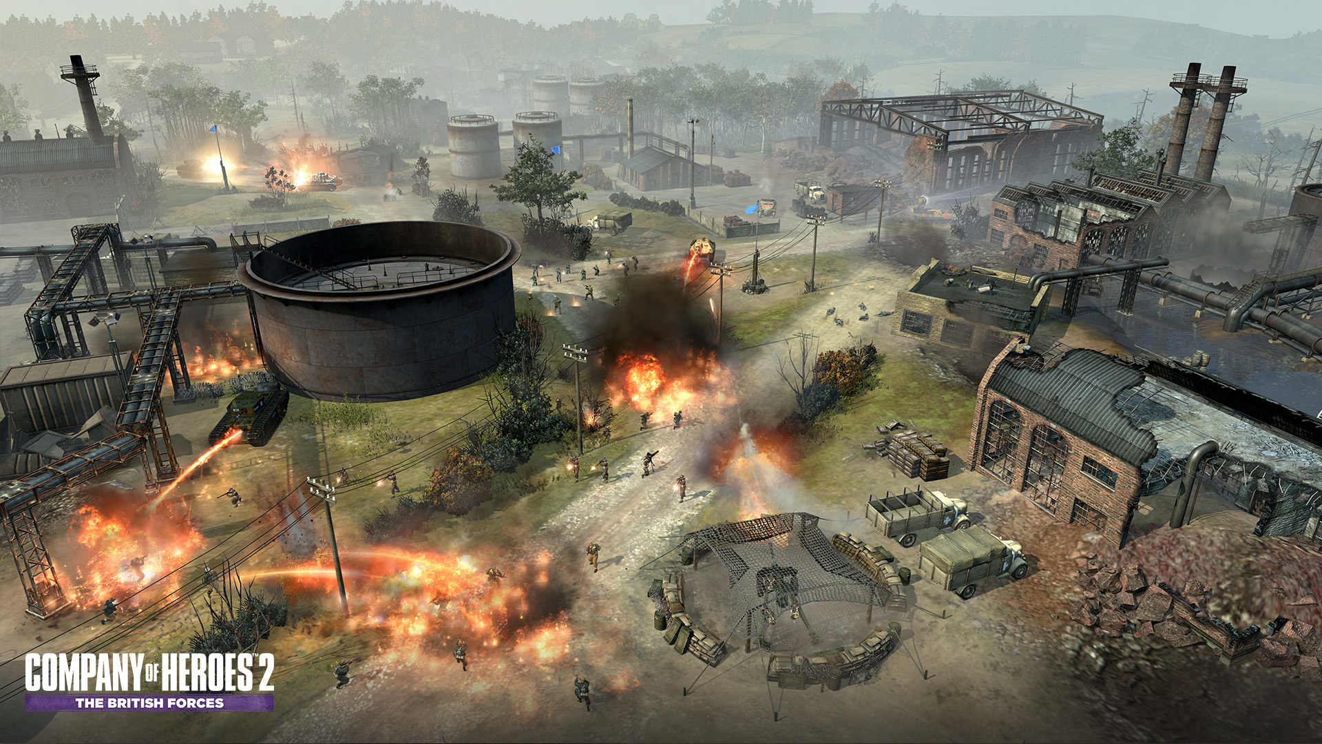 Company Of Heroes 2 The British Forces System Requirements Can