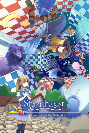 Starchaser: Priestess of the Night Sky poster image on Steam Backlog