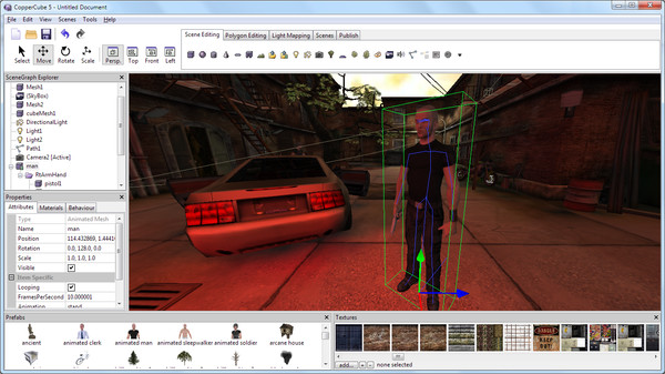Скриншот из CopperCube 5 - Professional Edition
