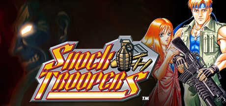 SHOCK TROOPERS cover art
