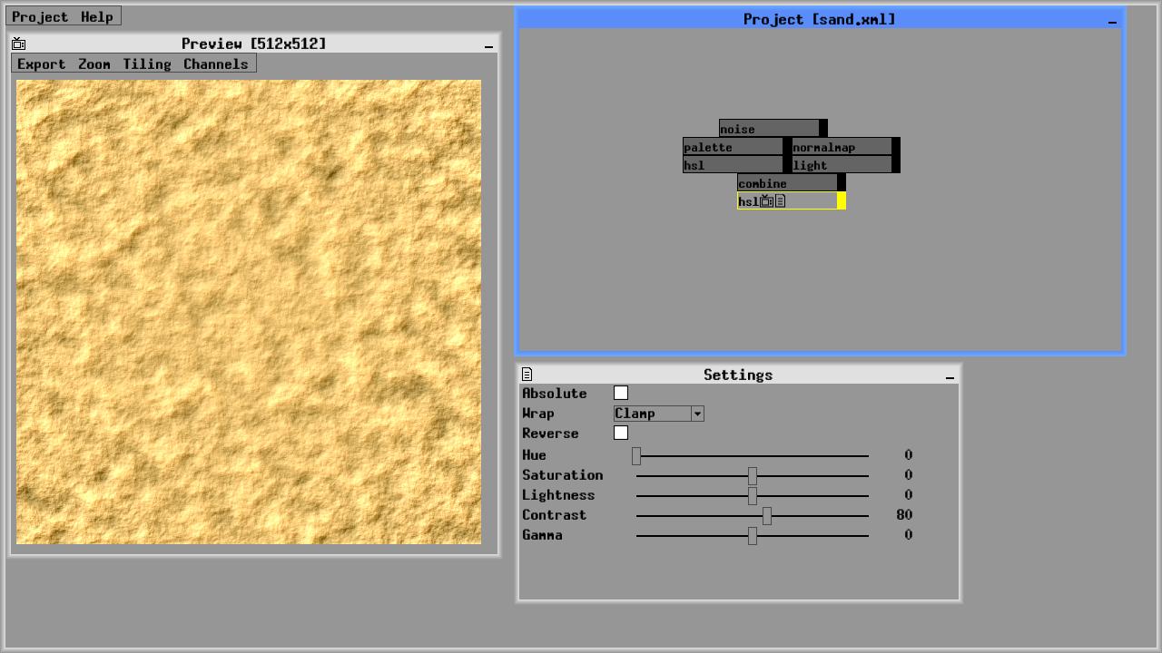 Zeuxis : procedural texture generator
