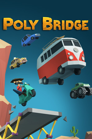 Poly Bridge poster image on Steam Backlog