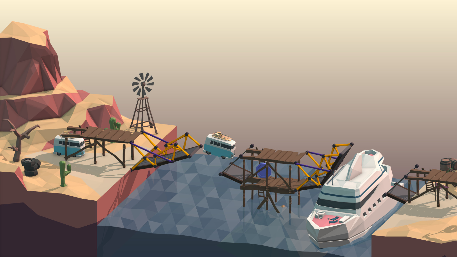 poly bridge computer game