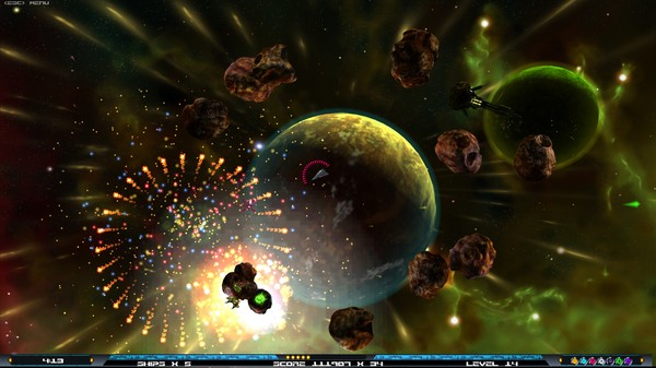 скриншот UfoPilot : Astro-Creeps Elite 1