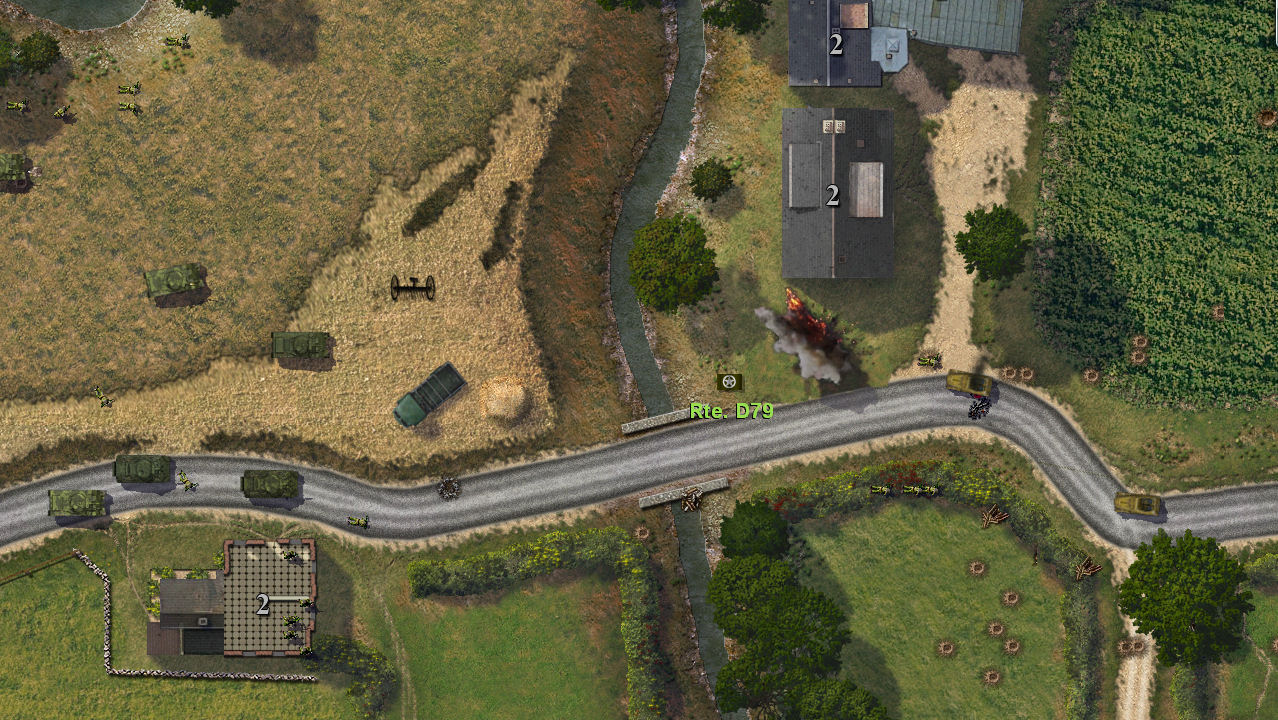 Close Combat: Panthers in the Fog screenshot 1
