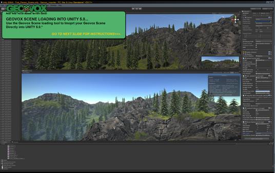 Скриншот из GeoVox