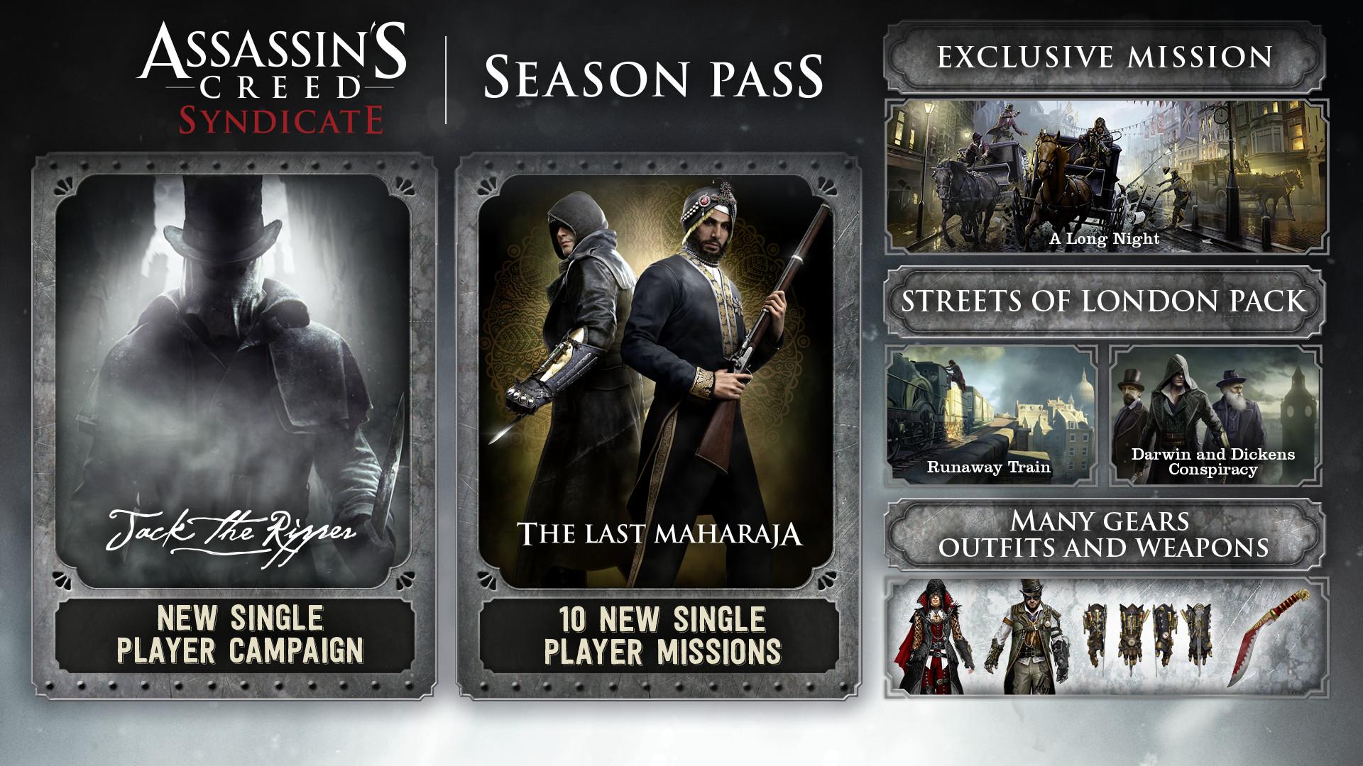 Assassins Creed Syndicate Gold Edition v 1.5 + DLCs repack Mr DJ version download