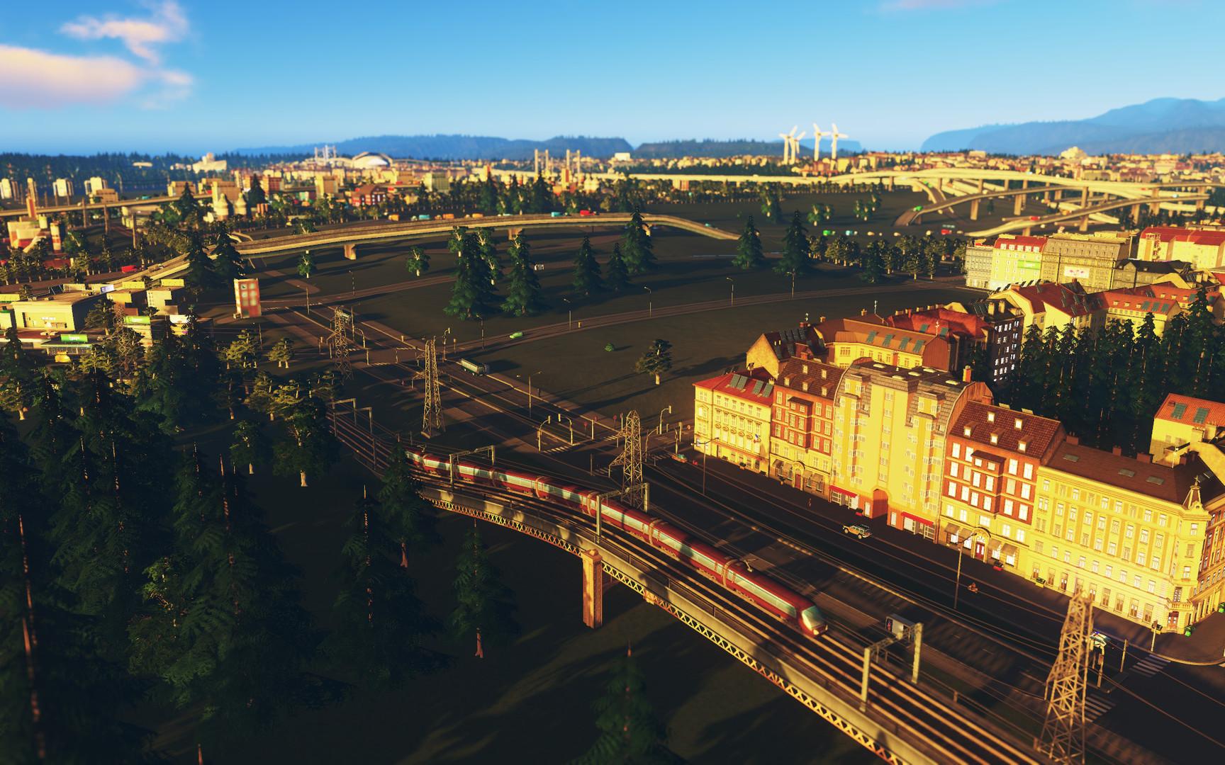 Cities Skylines After Dark ESPAÑOL PC Full (CODEX) 10