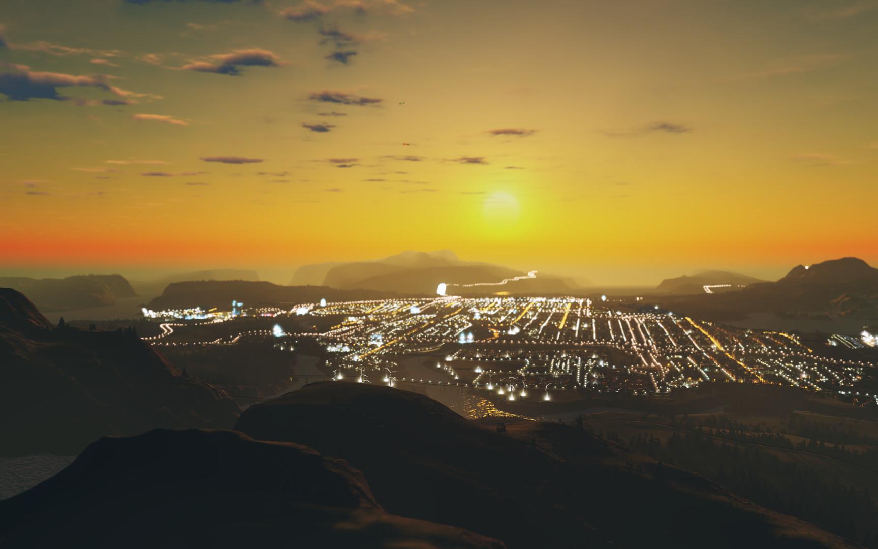 Cities Skylines After Dark ESPAÑOL PC Full (CODEX) 1