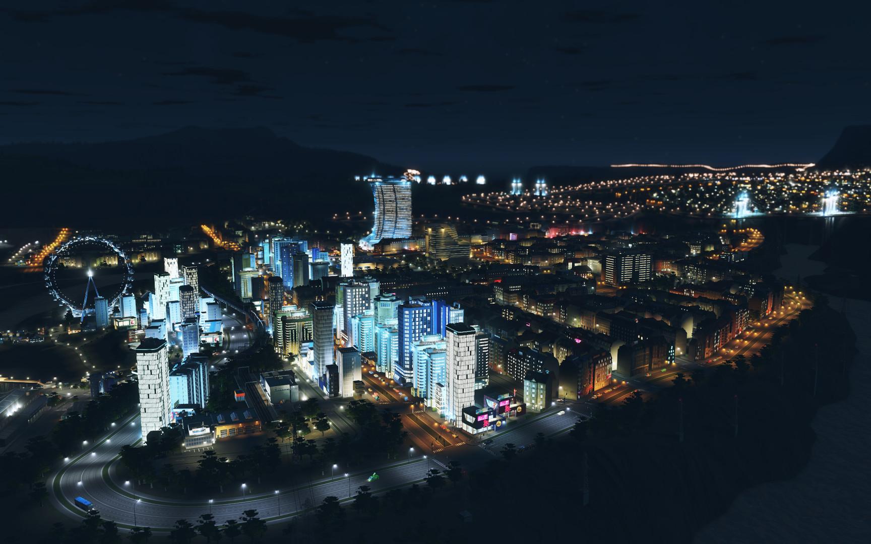 Cities Skylines After Dark ESPAÑOL PC Full (CODEX) 7