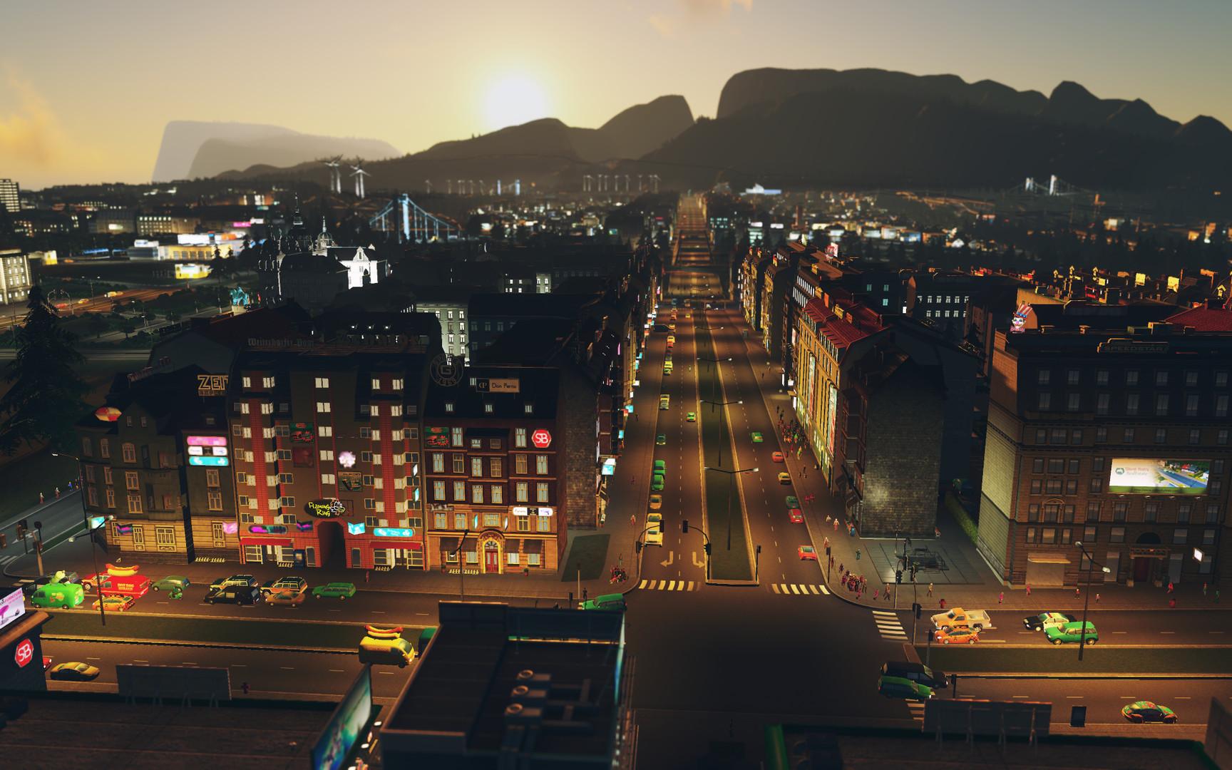 Cities Skylines After Dark ESPAÑOL PC Full (CODEX) 9