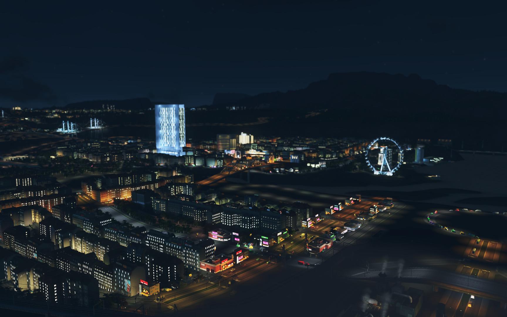 Cities Skylines After Dark ESPAÑOL PC Full (CODEX) 3