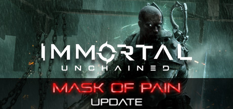 Immortal Unchained The Mask of Pain Capa