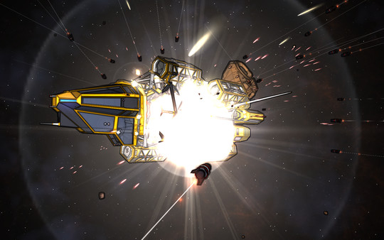 Screenshot of Void Destroyer 2