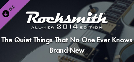 Rocksmith 2014 - Brand New - The Quiet Things That No One Ever Knows on Steam