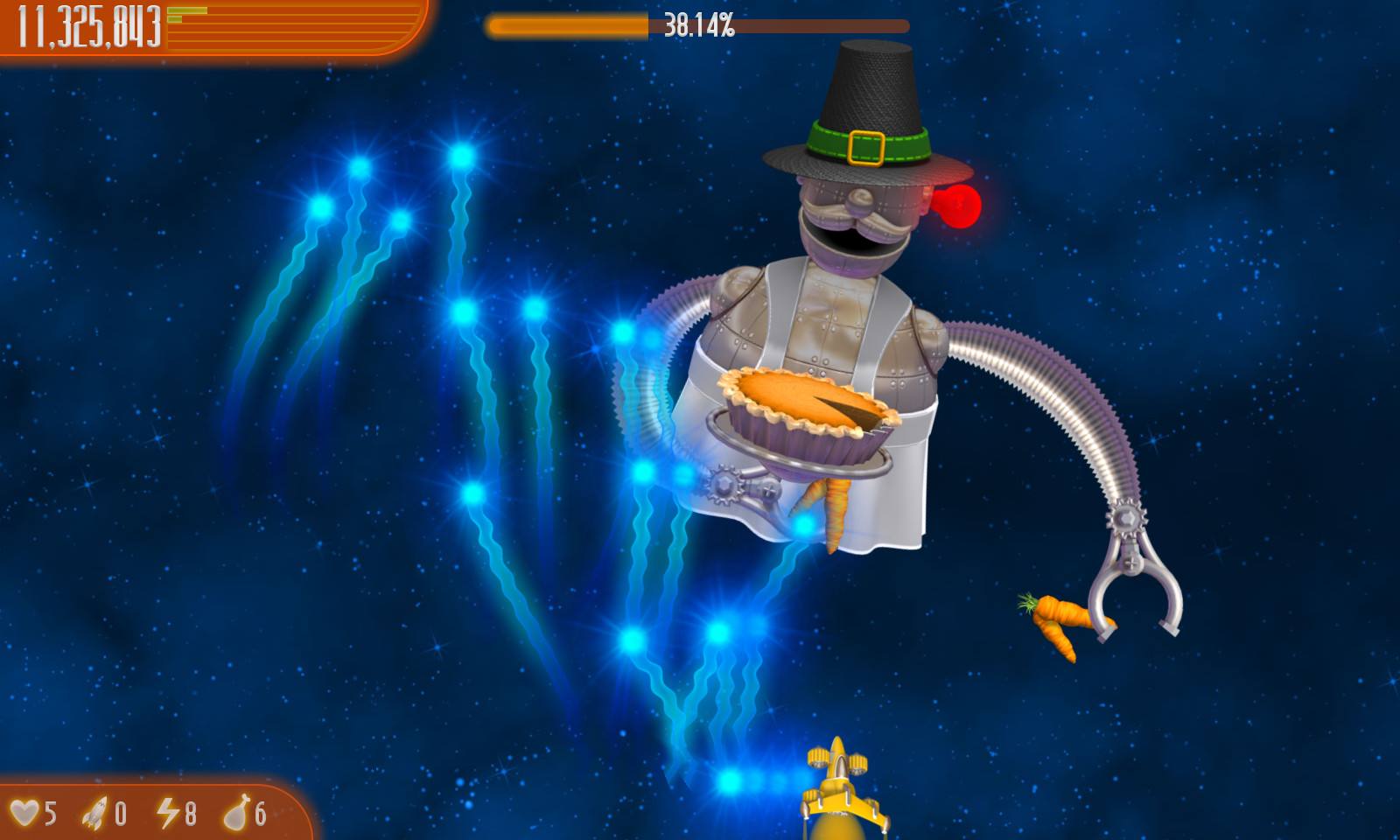Chicken Invaders 4 Ultimate Omelette iPad iPhone Android Mac & PC Game