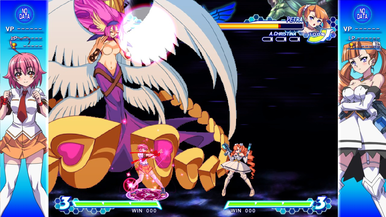 Arcana Heart 3 LOVE MAX!!!!! Screenshot 3