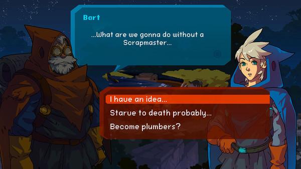 скриншот Aegis Defenders 4