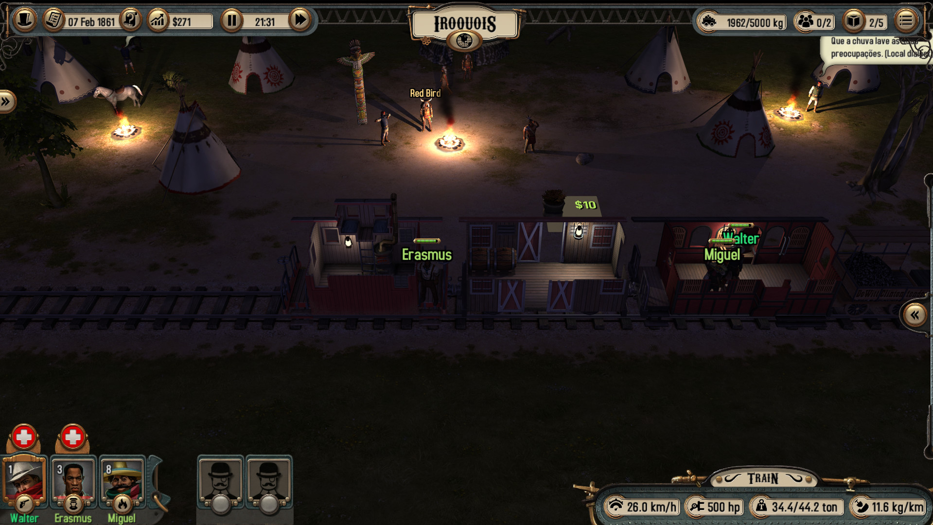 Bounty Train Screenshot 2
