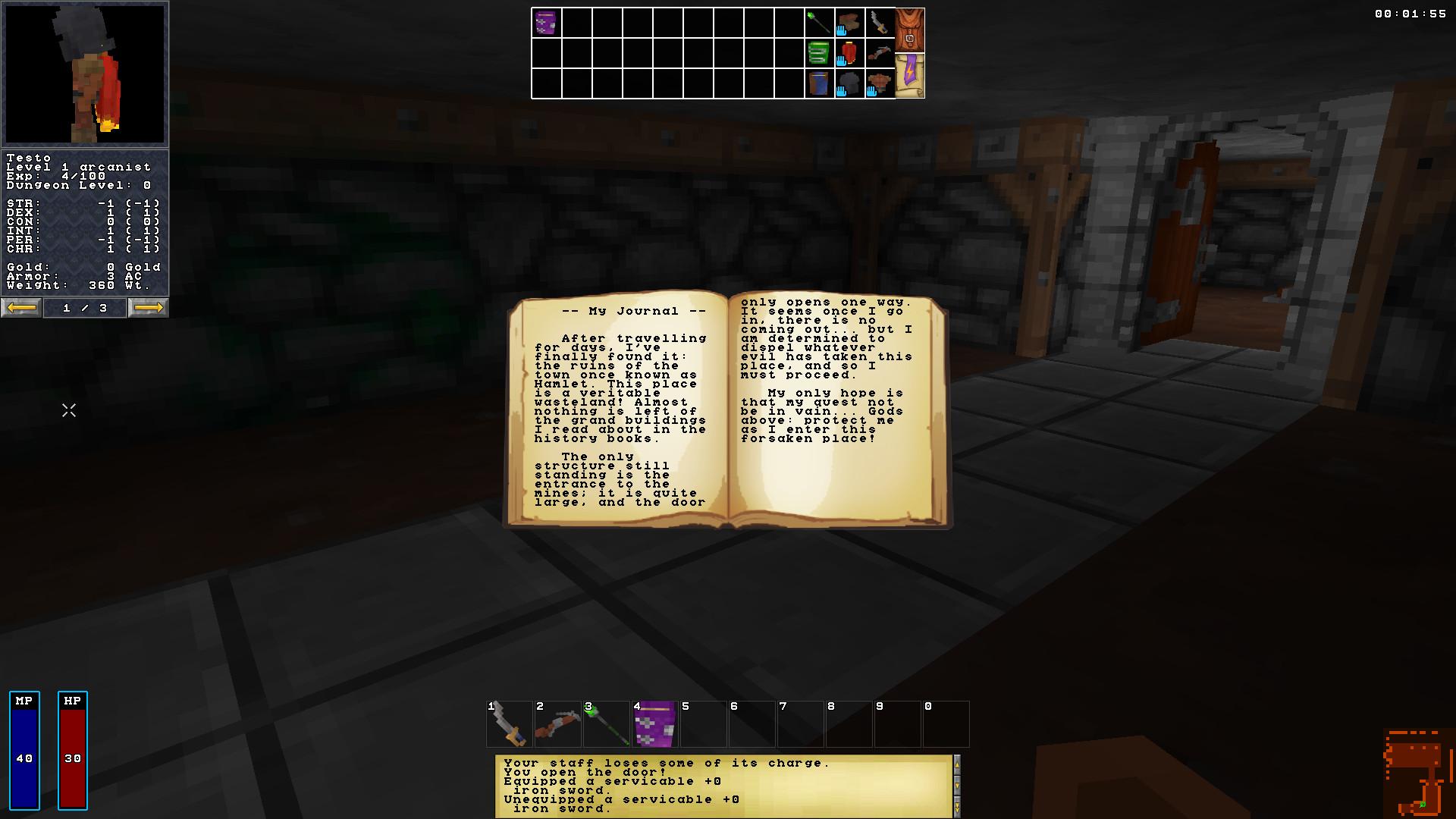Barony: Cursed Edition screenshot 1