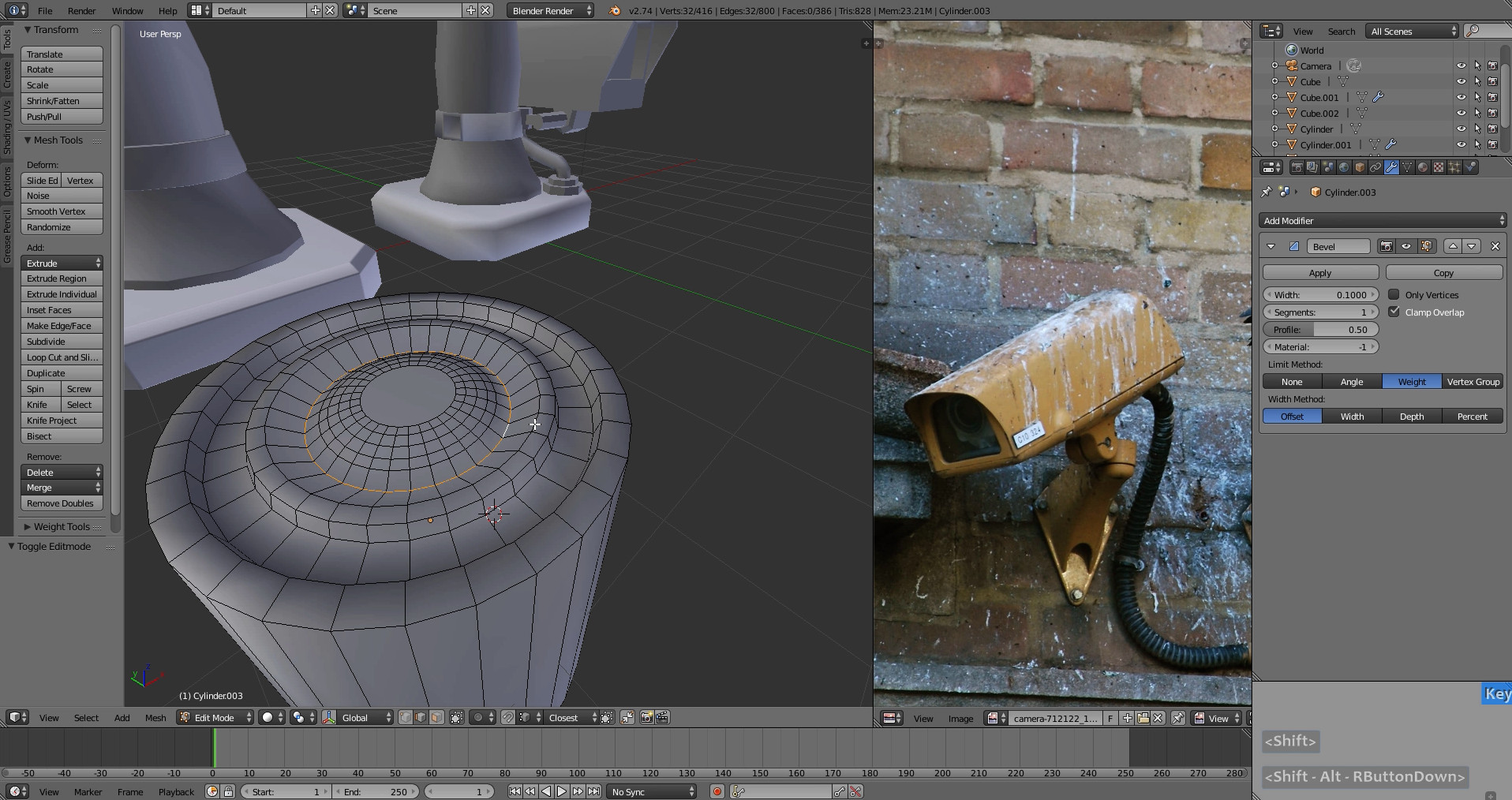 Blender Game Asset: Low Poly Modeling Well (1) - YouTube
